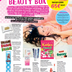 UUDIS! BUDUAAR TEEN BEAUTY BOX: ilus kingitus nii endale kui sõbrannale