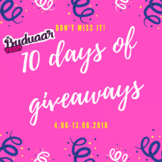 TÄNA ALGAS SUUR LOOSINÄDAL: 10 Days of Giveaways!