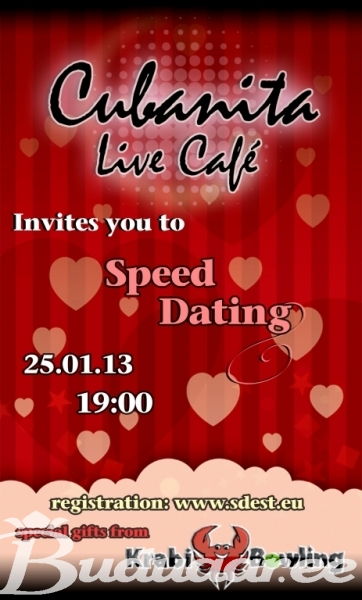 Live speed dating
