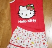 hello kitty komplekt 116/122, 128/134
