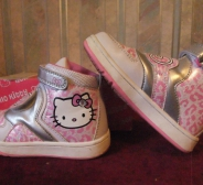Sanrio Hello Kitty Hi-top tossud EU 26,5 UK C9
