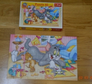 "Puzzle ""Tom ja Jerry"",30 tk"