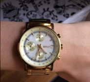 DKNY LADIES' LEXINGTON CHRONOGRAPH WATCH