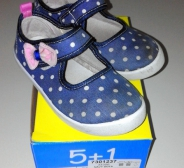 5+1 tennised nr 27 navy dots