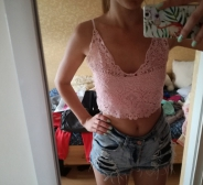 Pitsiline crop top s.S