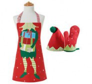 Kondiitri kokariided lastele Santa's Little Helper, ABC