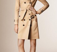 Burberry Sandringham long trench coat