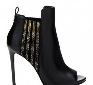 Guess peep toe bootie