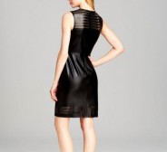 UUS! sildiga Calvin Klein faux leather dress suurus S. Ostuhind 140€