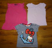 H&M Hello Kitty pluus + veel 2 pluusi