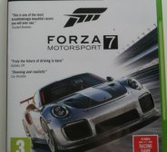 XBOX ONE mängud: Forza Motosport 7, Gears of War 4, Halo 5 Guardians