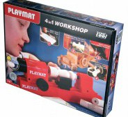 WOODWORKING KIT 4 IN 1 PLAYMAT