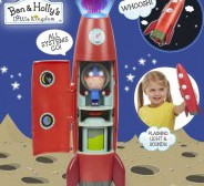 BEN AND HOLLY ELF ROCKET